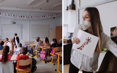 Nazrite do života Cirkevnej ZŠ sv. Cyrila a Metoda v Seredi prostredníctvom nových videí. Ako využívajú digitálne technológie na vyučovaní?