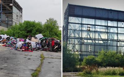 Mestská polícia v Seredi objavila ďalšiu skládku nelegálneho odpadu. Areál Milexu je zaplnený plastom a vyseparovaným textilom