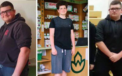 Mladý Seredčan Jakub schudol neuveriteľných 30 kíl aj vďaka službám Naturhouse. Jeho premena môže byť inšpiráciou aj pre vás