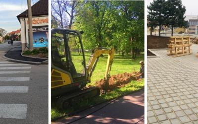 Pozrite si prehľad aktuálne prebiehajúcich prác a plánovaných aj ukončených rekonštrukcií mesta Sereď