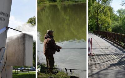 Zrušené rybárske preteky, most Bailey Bridge a pamätník v parku. Prinášame vám tri informácie v jednom článku