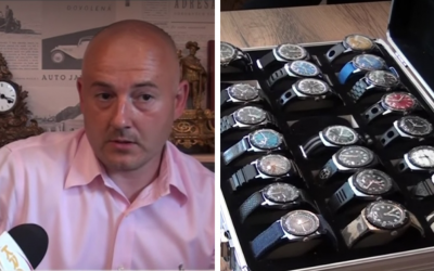 Jeho zbierka hodiniek obsahuje vyše 200 exemplárov. Spoznajte Branislava Kružlíka zo Serede