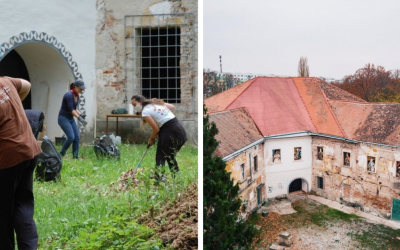 Jarná brigáda pri Seredskom kaštieli sa uskutoční už túto sobotu. Seredčania, skrášlime si spolu okolie našej kultúrnej pamiatky