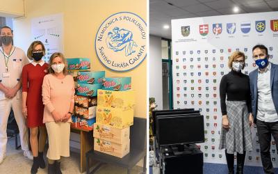 Sedita počas pandémie pomohla nielen zamestnancom nemocníc ale aj odberným tímom, či stredoškolákom