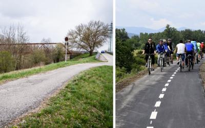 Seredský títeš bude súčasťou Vážskej cyklomagistrály, ktorá je najstaršou cykloturistickou trasou na Slovensku