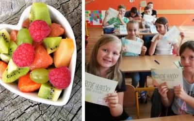 Pomôžte základným školám zo Serede a okolia získať ovocie a zeleninu na celý školský rok. Hlasovanie v projekte Čerstvé hlavičky je už spustené