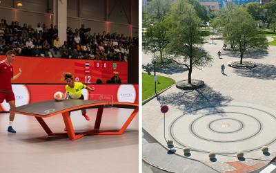 V Seredi už čoskoro prebehne prvý oficiálny teqballový turnaj. Nový šport si postupne získava fanúšikov aj na Slovensku