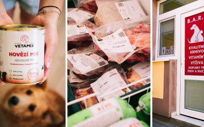 V Seredi vznikol nový obchod Barfovo. Ponúka kvalitnú a vyváženú stravu BARF pre vašich štvornohých miláčikov