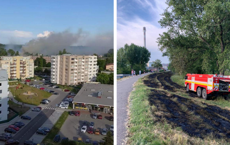 AKTUÁLNE: Hasiči dnes podvečer uhasili požiar na larzenkách. Takéto a väčšie škody dokáže spáchať aj jeden ohorok cigarety