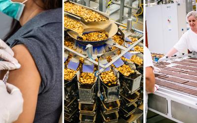 Zamestnanci Pečivární nemusia za očkovaním cestovať. Sedita je jedna z prvých firiem v Seredi, ktorá očkuje zamestnancov v práci