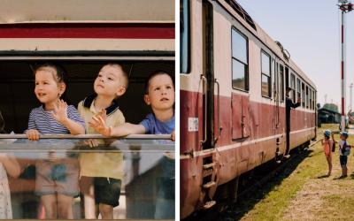 Vydajte sa vlakom na rodinný výlet. Nasadnite s deťmi do historického vlaku a staňte sa súčasťou príbehu, v ktorom ožívajú legendy