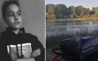 Pátranie po 13-ročnom chlapcovi, ktorého uniesol prúd rieky Váh pri Šúrovciach, je ukončené. Telo našli dnes ráno