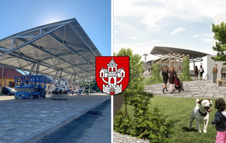 Nová tržnica v Seredi s krytými stánkami sa pomaly stáva realitou. Kedy bude dokončená jej výstavba?