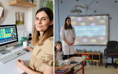 Molekulárna biologička Lucia Ciglar pochádza z nášho mesta. Na Instagrame približuje vedu pomocou obrázkov