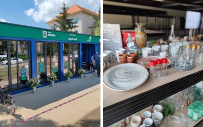 V Trnave vzniklo nové re-use centrum. Vďaka nemu sa využijú už nepotrebné, ale použiteľné veci