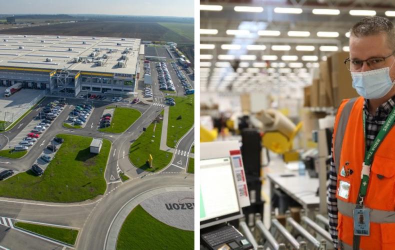Spoločnosť Amazon na Slovensku opäť zvyšuje mzdy. Pozrite sa, o koľko si prilepšia zamestnanci na jednotlivých pozíciách