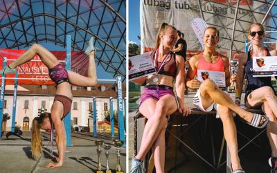 Fantastický úspech Veroniky Greinerovej z Paty. Na Majstrovstvách Slovenska v Street Workoute získala striebro