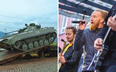 Príďte sa zabaviť na hudobný festival Vojenský LetoFest v Piešťanoch. Okrem skvelých skupín na vás čakajú aj ukážky vojenskej techniky