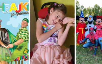 Detský charitatívny koncert pre Nikolku sa uskutoční už o pár dní. Prídu MalinyJam aj Zahrajko