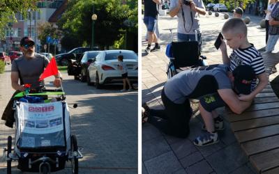 Seredčan Rastislav Maxián odbehol 575 km s krásnou myšlienkou pomoci rodinám s hendikepovanými deťmi