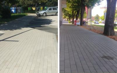 Seredské chodníky prechádzajú tento rok rozsiahlymi rekonštrukciami. Mesto tak reaguje aj na podnety občanov