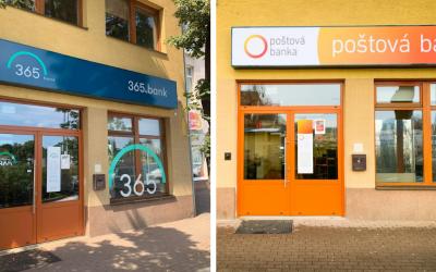 Poštová banka bude už iba na pošte. Jej pobočka v meste sa zmení na 365.bank. O čo pri tejto zmene vlastne ide?