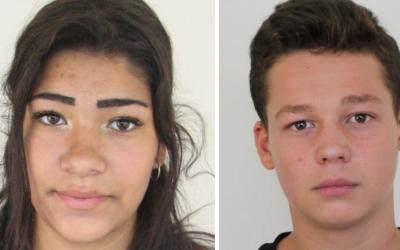 PÁTRANIE: Zmizol 17-ročný Daniel Nikolas z Trnavy a 16-ročná Alexandra Bobálová zo Sládkovičova. Nevideli ste ich?
