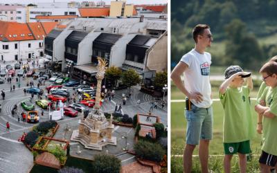 Už zajtra štartuje v Trnave tretí ročník charitatívneho podujatia Rally Radosti 2021, ktorý je plný superšportových áut