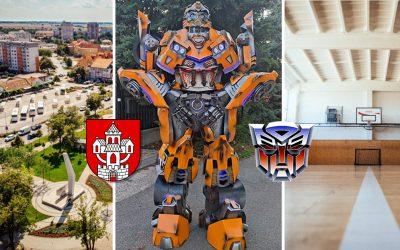 Jediný svojho druhu na Slovensku! Tri metre vysoký Transformer bude obrovským zážitkom nielen pre deti. Do Serede príde už v septembri