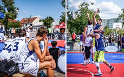 Sereď žila v sobotu basketbalovými turnajmi, na ktorých sa predstavili domáci, ale aj zahraniční hráči. Pozrite si atmosféru SBA 3×3 Tour 2021