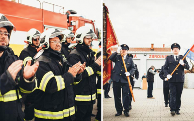 Hasičský zbor vo Vlčkovciach oslavuje 100. výročie vzniku. Príďte sa pozrieť na historickú hasičskú striekačku a zaujímavý program