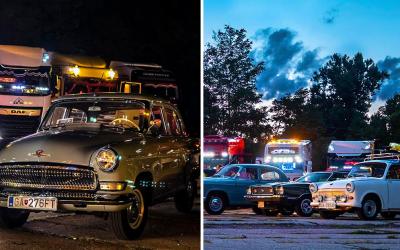 Seredský Starý most v týchto dňoch žiari svetlami veteránov a kamiónov. Príďte sa pozrieť na jedinečné stretnutie Veterán & Truck
