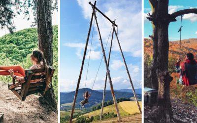 Kam na Slovensku za legendárnymi hojdačkami? Krásny výhľad si vychutnáte napríklad aj pri Smoleniciach