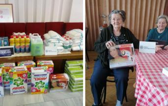 """Vďaka projektu """"V zdravom tele, zdravý duch"""" získala obec Šintava financie na nákup prístrojov, hygienických a dezinfekčných prostriedkov"""