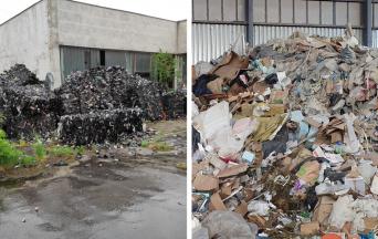 Nelegálne skládky v Seredi a v obci Mostová stále neodpratali. Prípadmi sa zaoberá polícia