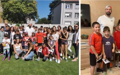 Úspešný MMA zápasník Attila Végh navštívil deti v Centre pre deti a rodiny Sereď
