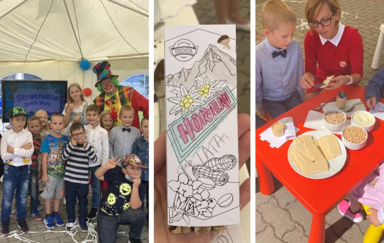 Spoločnosť Sedita aj tento rok vítala prvákov. Deti si užili fantastický deň plný zábavy