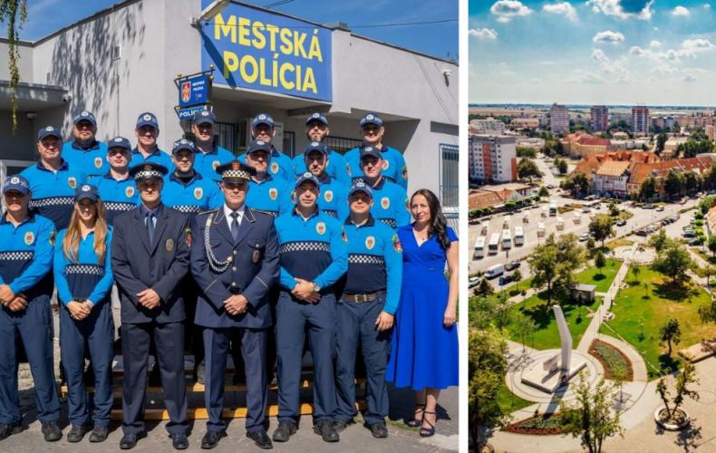 Mestská polícia v Seredi oslávila 30 rokov od svojho založenia