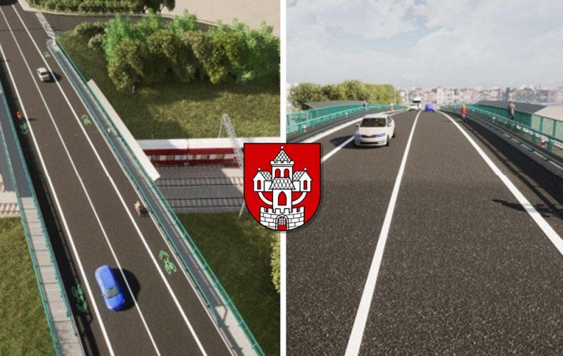 Na železničnom moste v Seredi bude vozovka rozšírená o cyklochodník a chodník pre peších. Pozrite si vizualizácie mosta