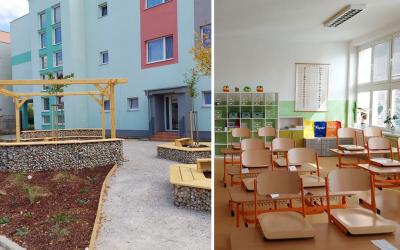 Nový školský rok priniesol do ZŠ J. A. Komenského v Seredi veľké zmeny. Žiakov potešia nové moderné priestory či oddychová zóna