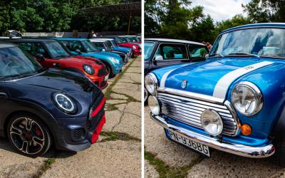 Legendárne britské autá MINI sa zišli v seredskom Oldtimer Café. Nechýbala ani hudba a dobrá nálada
