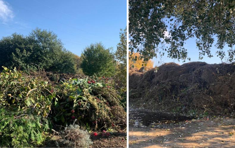 Nelegálnu skládku pri záhradkách musí mesto opäť odpratať. Občania by sa mali zelených odpadov zbavovať úplne inak