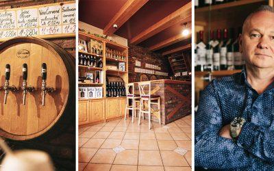 Vinotéka Kramárik ponúka Seredčanom vína iba zo slovenských viníc. Ich kvalitné čapované vína obľubuje čoraz viac ľudí