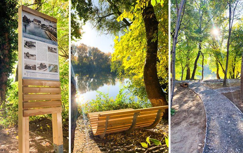 Nábrežie Garbiarska bude úžasným miestom. Seredčania spolu osadili nový náučný chodník, zasadili stromy aj trávu a vyčistili okolie